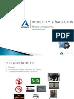 Bloqueo y Señalización- Minera Chinalco Perú