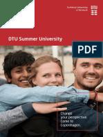 DTU Summer Programme 2018