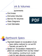 Earthwork & Volumes PPT