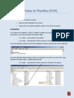 Manual Del Sistema de Planillas (PLH) Version Beta
