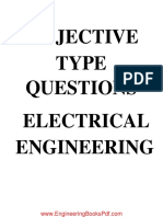 Objective Type Questions Electrical Engineering