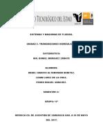 Unidad 5. Transmisiones Hidraulicas
