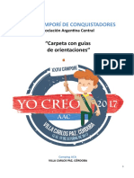 Carpeta guía de orientaciones camporí 2017 AAC