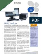 OPTICOM PEVQ Analyzer DataSheet 08-02-01