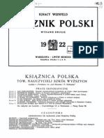 Rocznik Polski 1922