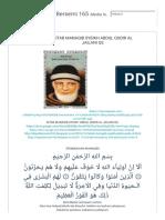 Al Hijaz Depok Bersemi 165_ Kitab Manaqib Syeikh Abdul Qodir Al Jailani Qs