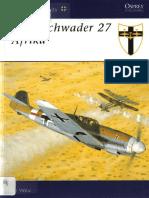 Osprey - Aviation Elite Units 012 Jagdgeschwader 27 Africa