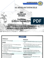 Terminal Myelocystocele