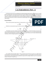 PG Notes on Semiconductors (Part-1)