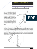 PG Notes on Semiconductors (Part-2)