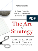 The Art of Strategy_ a Game Theorist%27s Gui - Avinash K. Dixit