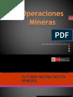 Exposición Operaciones MINERAS en Mineria a Cielo Abierto