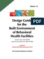 Design Guide for Behavioral Health