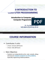 01 - Introduction to Computer and Algorithm -Portal