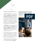01 Importancia de La Planificación Didáctica