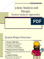 System Analysis and Design Midterm1
