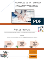 Area de Finanzas y Produccion
