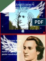 Mihai Eminescu 15 Ianuarie
