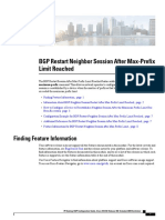 BGP Restart Neighbor Session After Max-Prefix Limit Reached