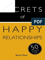 Secrets of Happy Relationships - 50 Techniques to Stay in Love