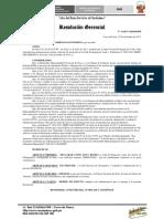 Resolucion Gerencial Declarar Zona Rigida Prolongación Yauli