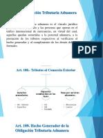 Declaracion Aduanera y Obligacion Tributaria Aduanera