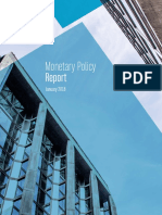 Monetary Policy Report January 2018