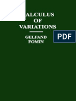 Gelfand,Fomin - Calculus Of Variations.pdf