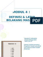 4. Modul 4- Definisi Masalah Kik