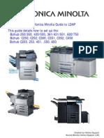 Konica Minolta LDAP Guide V1.2