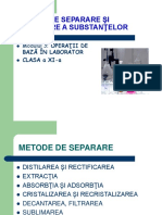 Docslide.net Metode de Separare Si Purificare a Substantelor
