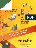 Datamining and Analytics Workshop