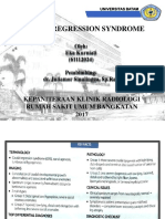 Caudal Regression Syndrome