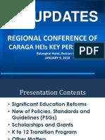 2017 Caraga Regional Confab - RAS Updated Jan 2 2018