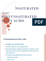 2311138 Monounsaturated and Polyunsaturated Fatty Acids