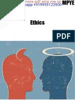 IGNOU Ethics