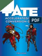 Fate Accelerated Core Conversion Guide