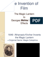 the invention of film fixed