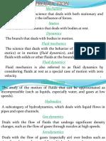 Fluid Mechanics Ppt