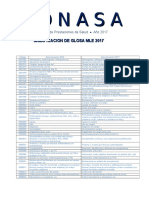 9 Modificación Glosa MLE 2017