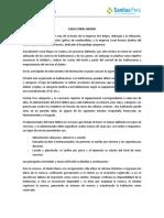CASO CORAL NEGRO - Evaluación de Procesos.