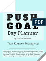 Push Goal Interactive Planner 2016