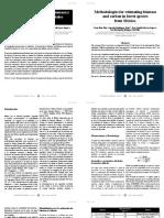 métodos estimación biomasa