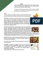 Alimentos de La Costa, Sierra, Oriente