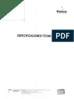Especificación Técnica Geomembrana