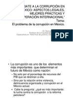 GONZÁLEZ. Dr. Samuel, El combate a la corrupción en México
