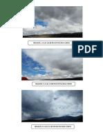 Fotos Del Informe de Nubes Tabla de Nubes-paola