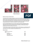 BabyLove Brand Modern Patchwork Blanket Pattern