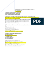 Practice Questions Ch 1