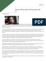 Restrição Ambiental Na China Pode Elevar Preço de Defensivos Em 30%